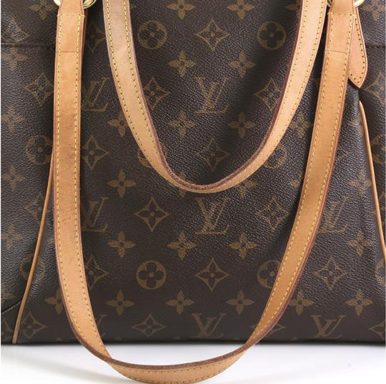 Louis Vuitton Totally Monogram Canvas Tote in brown Image 6