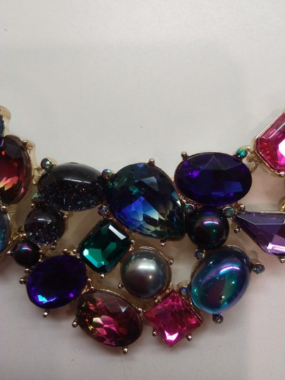 Betsey Johnson Betsey Johnson New Abstract Necklace & Earrings Image 3