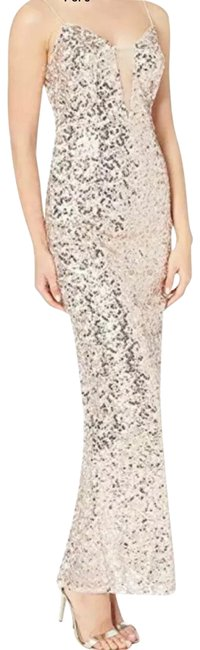 Preload https://img-static.tradesy.com/item/25872289/adrianna-papell-sequin-gown-formal-dress-size-2-xs-0-1-650-650.jpg