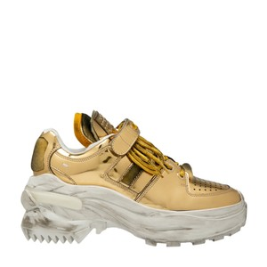 Maison Margiela Platform Retro Glam Gold Athletic
