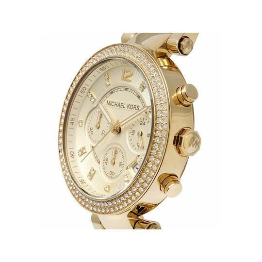 Michael Kors Parker Champagne Acetate Stainless Steel Chronograph MK5632 Image 2