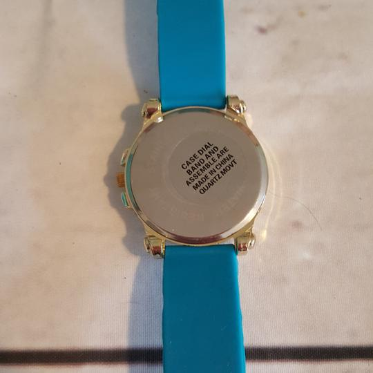 Other Silicone Crystal Bling Watch Blue Image 1