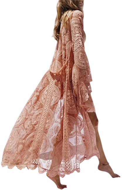 Preload https://img-static.tradesy.com/item/25872412/coral-lace-duster-cover-upsarong-size-10-m-0-1-650-650.jpg