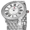 Michele Serein 16 Mid Stainless Mother Of Pearl Diamond Dial MWW21B000030 Image 2