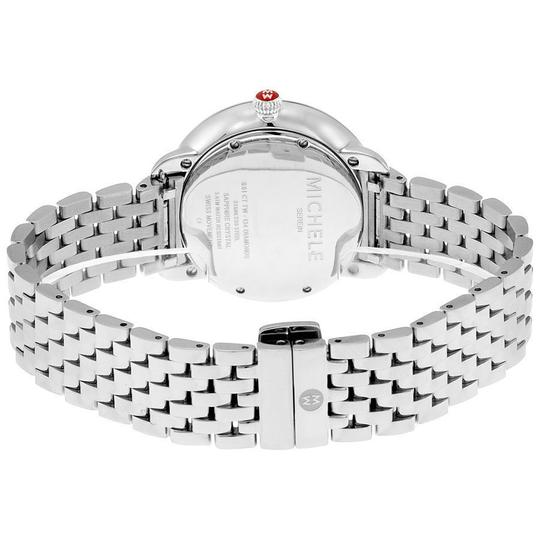 Michele Serein 16 Mid Stainless Mother Of Pearl Diamond Dial MWW21B000030 Image 3