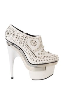 Versace white Pumps