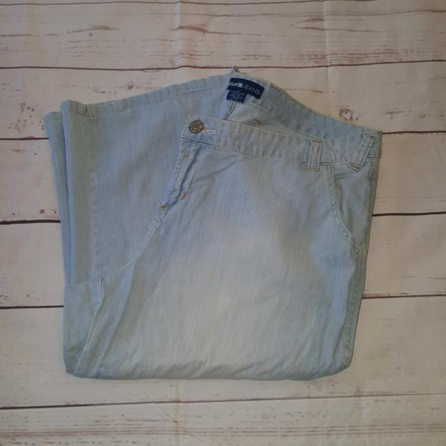 Avenue Capri/Cropped Denim-Light Wash Image 1