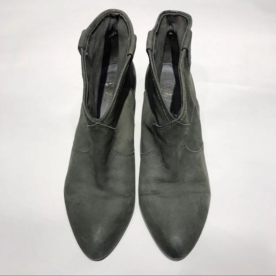 Ash Olive Green Boots Image 1