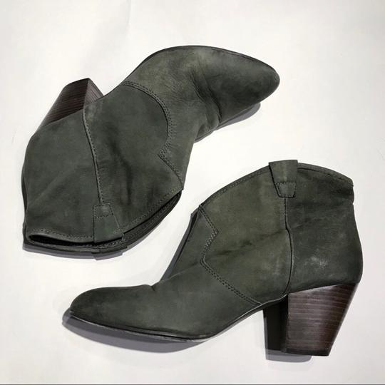 Ash Olive Green Boots Image 2