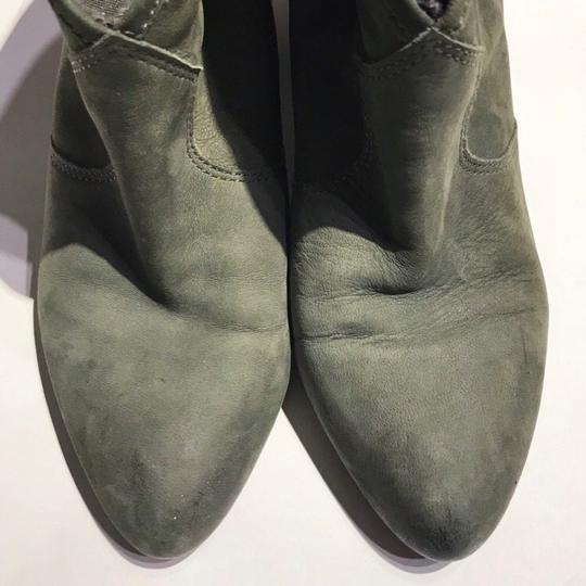 Ash Olive Green Boots Image 3