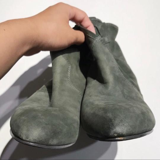 Ash Olive Green Boots Image 4