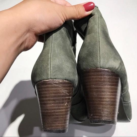 Ash Olive Green Boots Image 5