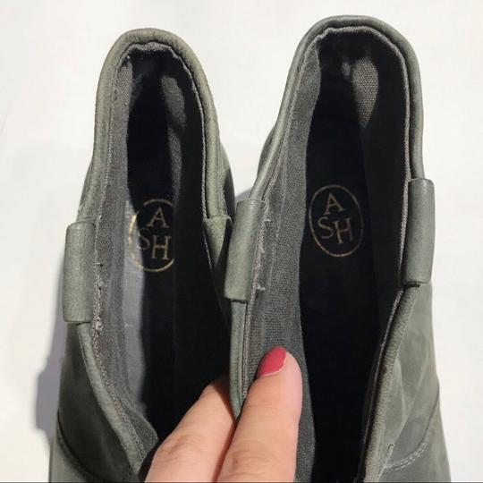 Ash Olive Green Boots Image 7