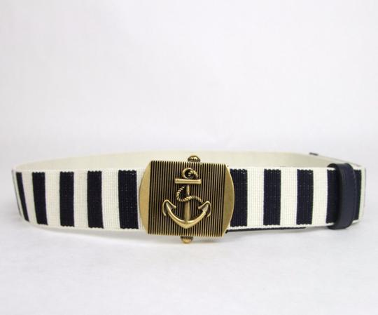 Gucci New Gucci Fabric Belt Anchor Brass Buckle 95/38 375191 4056 Image 1