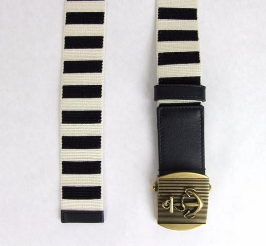 Gucci New Gucci Fabric Belt Anchor Brass Buckle 95/38 375191 4056 Image 2