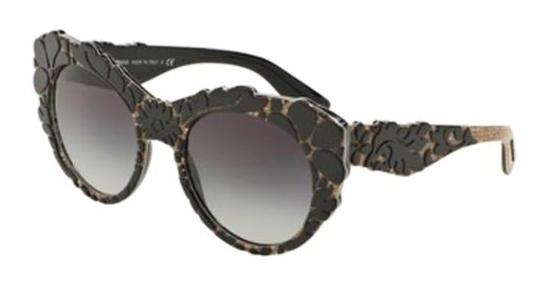 Dolce&Gabbana Floral Relief Sunglasses Image 3