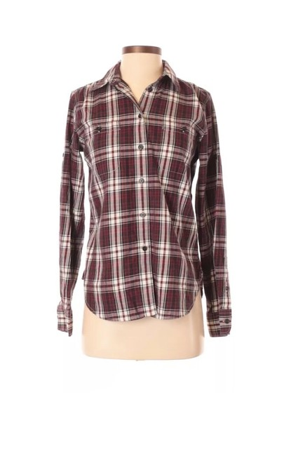 Preload https://img-static.tradesy.com/item/25872489/lauren-jeans-company-plaid-button-down-top-size-2-xs-0-0-650-650.jpg