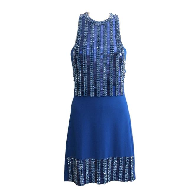 Preload https://img-static.tradesy.com/item/25872508/david-koma-blue-cady-and-embellished-short-night-out-dress-size-6-s-0-0-650-650.jpg