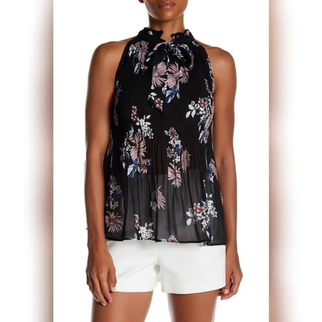 Preload https://item4.tradesy.com/images/free-press-black-floral-high-neck-pleated-blouse-halter-top-size-2-xs-25872513-0-1.jpg?width=400&height=650