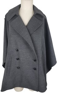 Adrienne Vittadini Military Jacket Cape