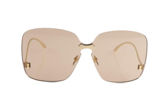 Preload https://img-static.tradesy.com/item/25872530/gucci-gold-rimless-oversized-sunglasses-0-2-540-540.jpg
