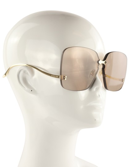 Gucci Rimless Oversized Image 10