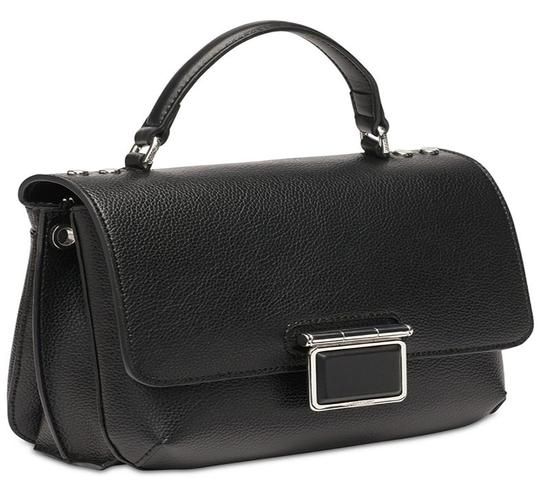 Calvin Klein Collection Leather Apparel Group Inside Zip Cross Body Bag Image 2