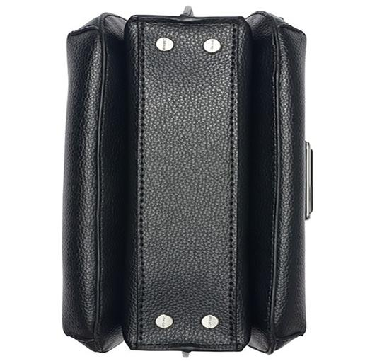 Calvin Klein Collection Leather Apparel Group Inside Zip Cross Body Bag Image 4