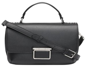 Calvin Klein Collection Leather Apparel Group Inside Zip Cross Body Bag