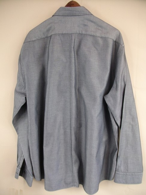 Hugo Boss Button Down Shirt Gray Image 1