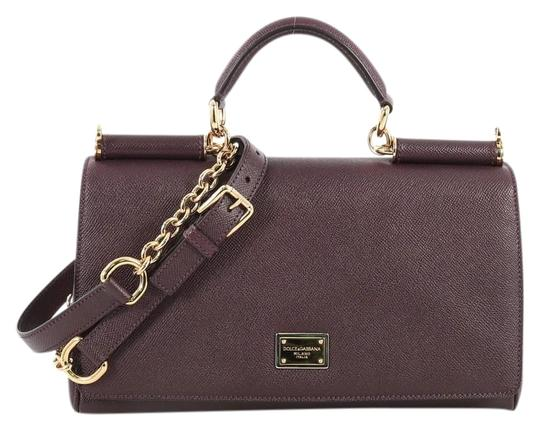 Preload https://img-static.tradesy.com/item/25872597/dolce-and-gabbana-east-west-miss-sicily-purple-leather-satchel-0-1-540-540.jpg