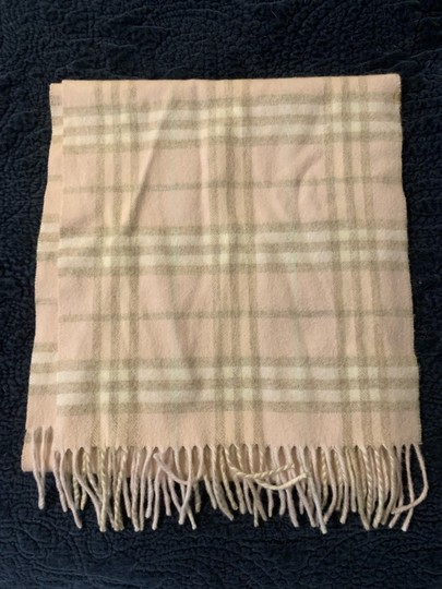 Burberry Burberry pink cashmere scarf Image 2