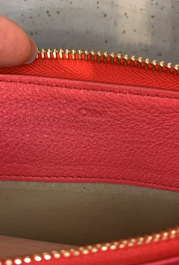 Chloé Coral Leather Cross Body Bag Image 5