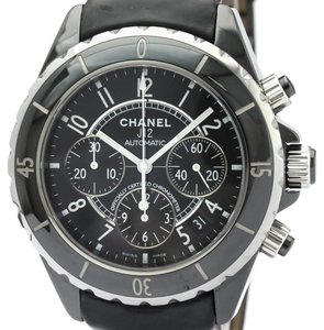 Chanel Chanel J12 Automatic Ceramic Men's Sports Watch H0938