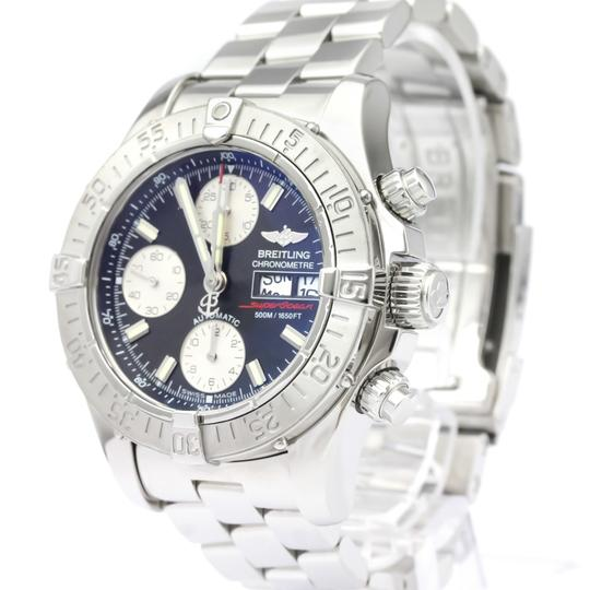 Breitling BREITLING Chrono Super Ocean Steel Automatic Mens Watch A13340 Image 1