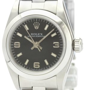 Rolex Rolex Oyster Perpetual Automatic Stainless Steel Women's Dress Watch 67180