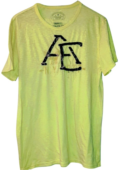 Preload https://img-static.tradesy.com/item/25872727/american-eagle-outfitters-yellow-xl-mens-sleeve-tee-shirt-size-16-xl-plus-0x-0-1-650-650.jpg
