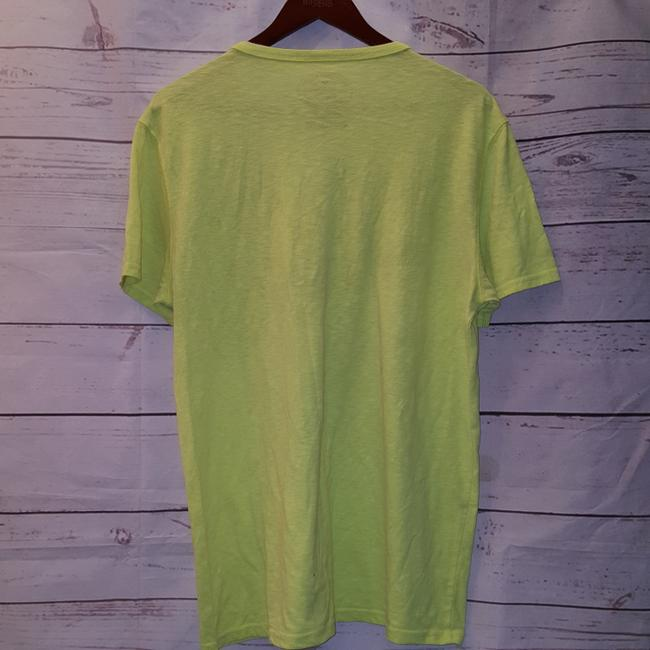 American Eagle Outfitters T Shirt Yellow Image 1