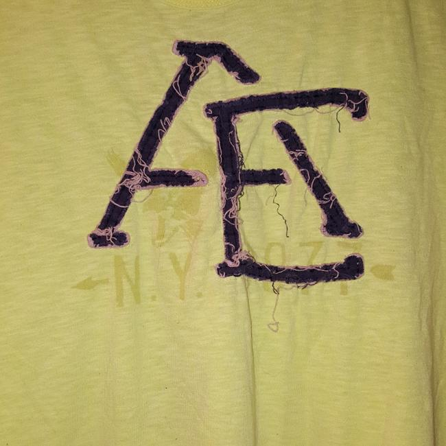 American Eagle Outfitters T Shirt Yellow Image 2