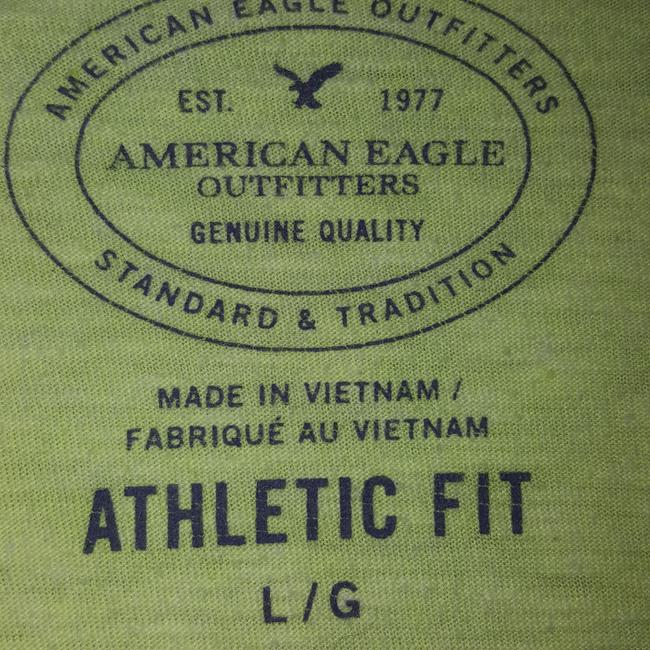 American Eagle Outfitters T Shirt Yellow Image 3