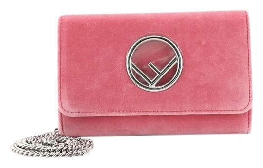 Preload https://img-static.tradesy.com/item/25872732/fendi-wallet-on-chain-i-pink-velvet-clutch-0-1-540-540.jpg