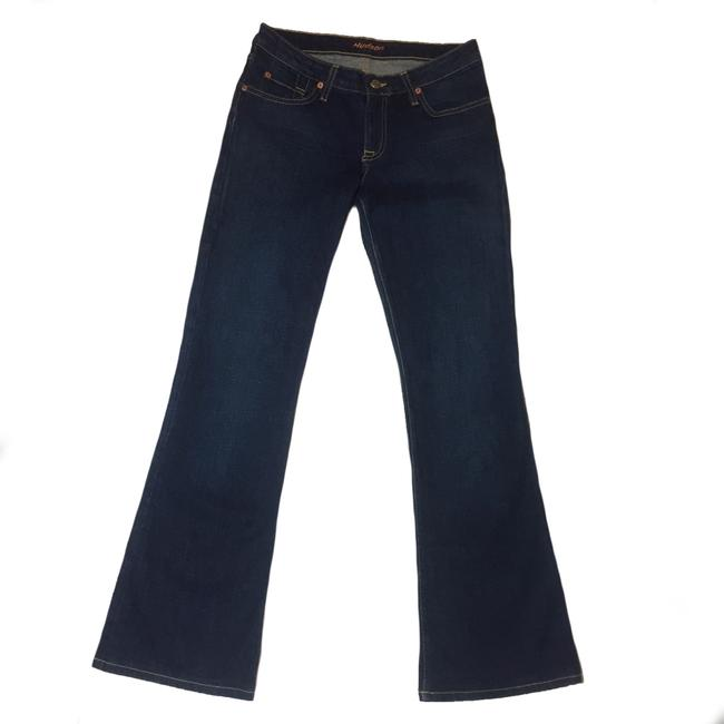 Hudson Size 28 Flare Made In Usa Size 28 Trouser/Wide Leg Jeans Image 1