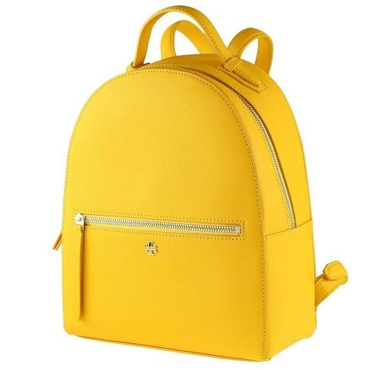 Preload https://img-static.tradesy.com/item/25872775/tory-burch-emerson-yellow-leather-backpack-0-0-540-540.jpg