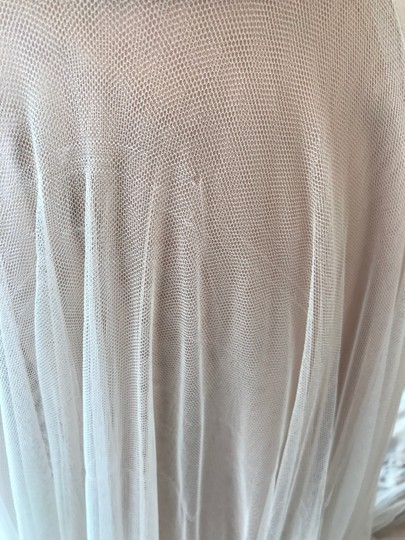 Wtoo Rosegold Lace & Tulle Catherine 16718 Casual Wedding Dress Size 6 (S) Image 9