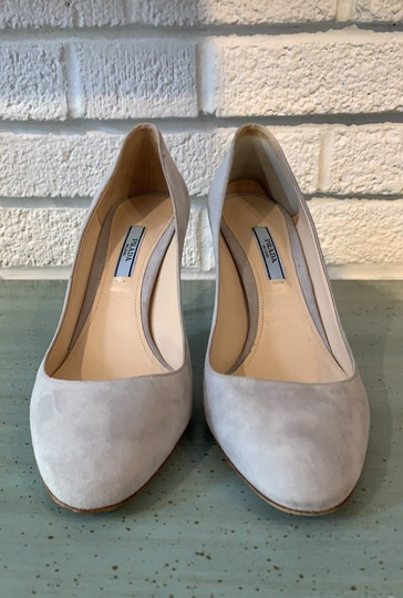 Prada Gray Pumps Image 1