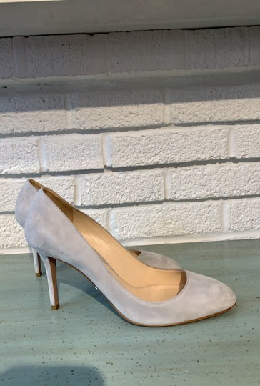 Prada Gray Pumps Image 3