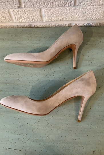 Prada Gray Pumps Image 8