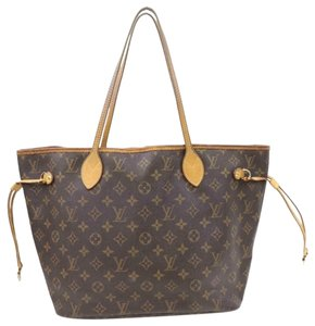 Louis Vuitton Canvas Monogram Vintage Tote in Brown