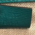 Gucci Leather Satchel in Green Image 9