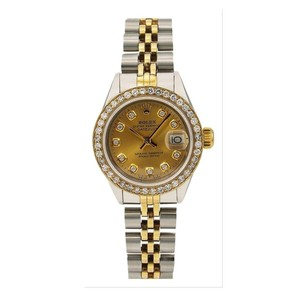 Rolex Rolex Lady-Datejust 6917 26MM Champagne Diamond Dial With Two Tone